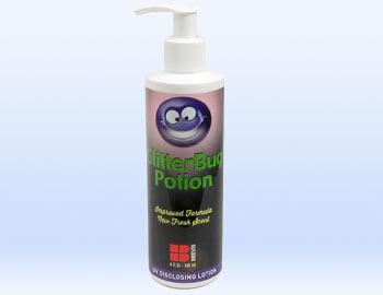 Use GlitterBug Potion for HAND WASHING Training