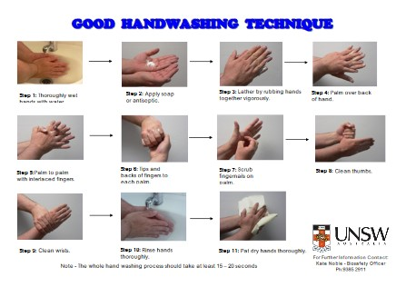Hand Washing Poster 9